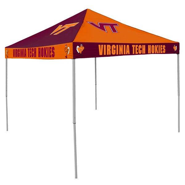 NCAA Collegiate 9 Ft. W x 9 Ft. D Steel Pop-Up Canopy by Logo Brands