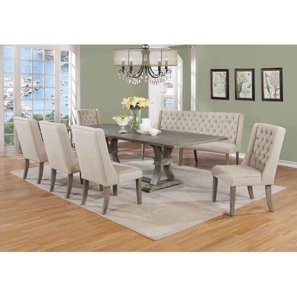 Desjardins 7 Piece Dining Set by Gracie Oaks
