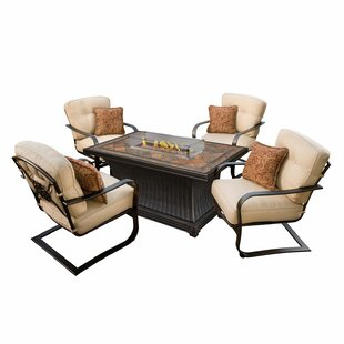 Kirschner 5 Piece Conversation Set with Cushions By Red Barrel Studio