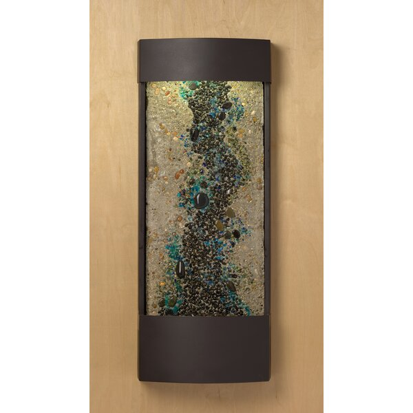 Blue Accent Panel Enchanted Creek Water Feature by Nayer Kazemi