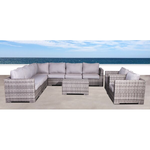 Pierson Double Club 4 Piece Sectional Set with Cushions by Brayden Studio