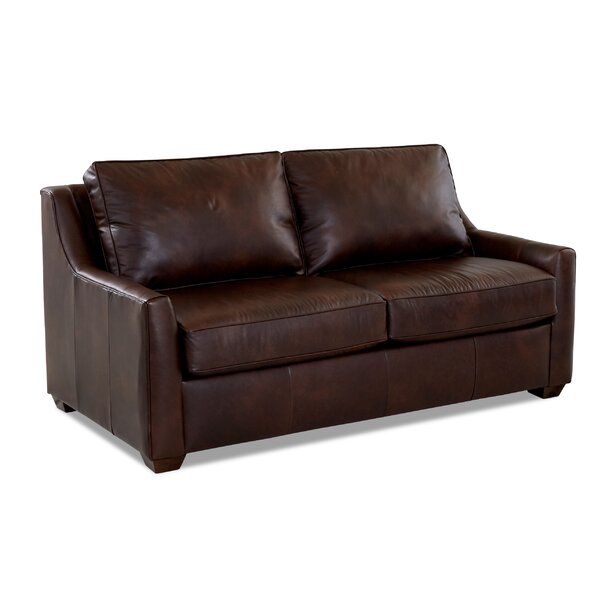 Léa Leather Sleeper by Birch Lane™ Heritage