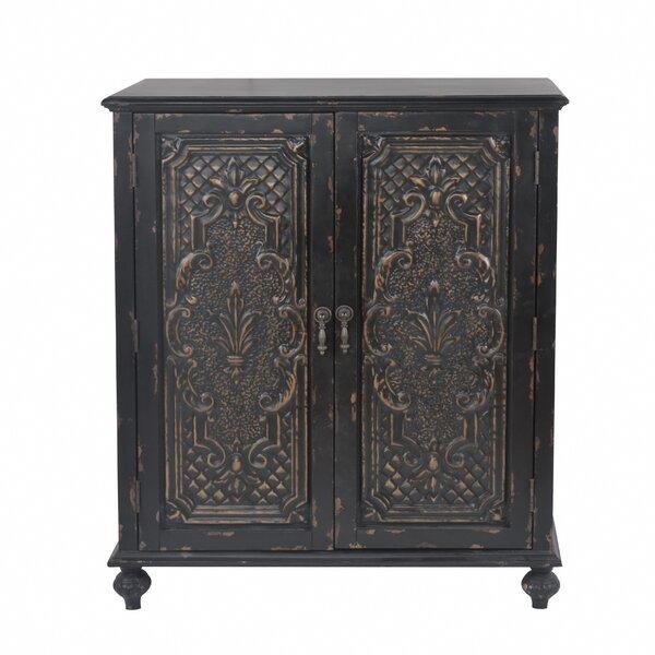 Wiest Ornate Front 2 Door Accent Cabinet by Bloomsbury Market