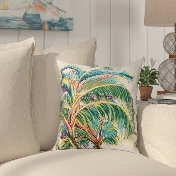 Granata Vacation Floral Throw Pillow by Bay Isle Home