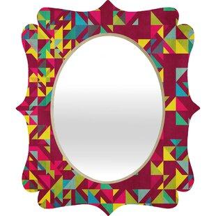 Deny Designs Arcturus Chaos 3 Quatrefoil Accent Mirror