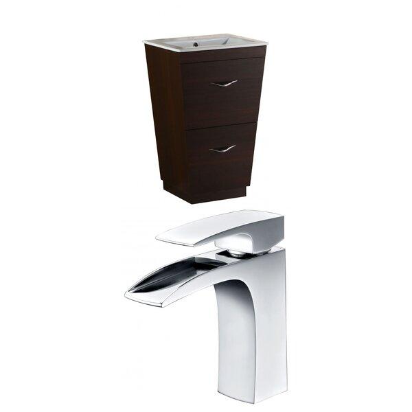 Vee 24 Single Bathroom Vanity Set by American Imaginations