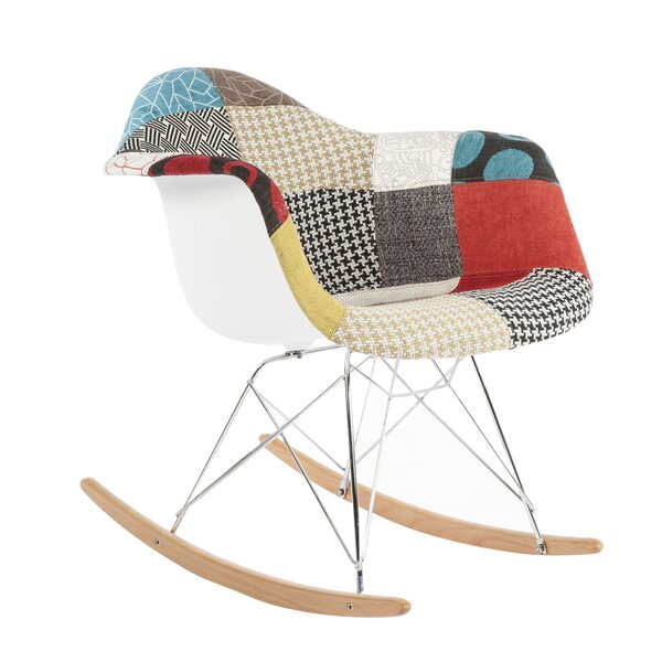 Mid Century Rocking Chair by Stilnovo