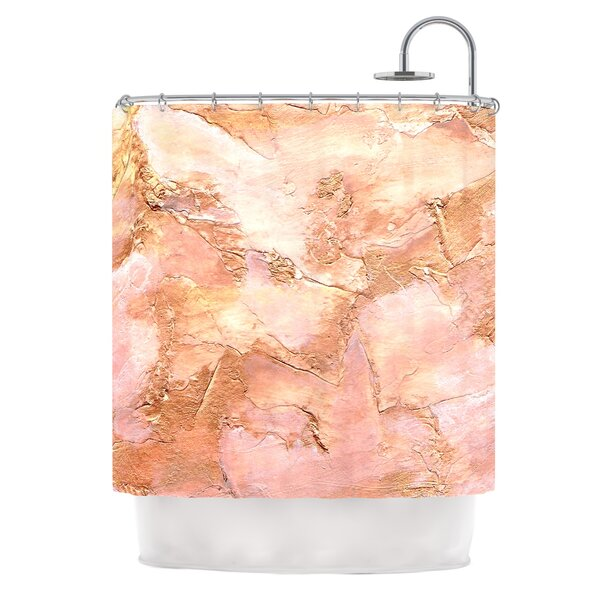 Bronze It by Rosie Brown Paint Shower Curtain by East Urban Home