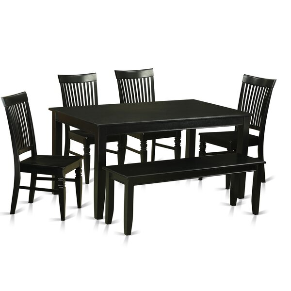 Araminta 6 Piece Dining Set By Alcott Hill Bargain