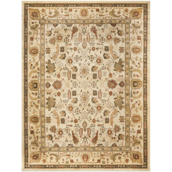 Wakely Power Loomed Cream Area Rug by Lauren Ralph Lauren