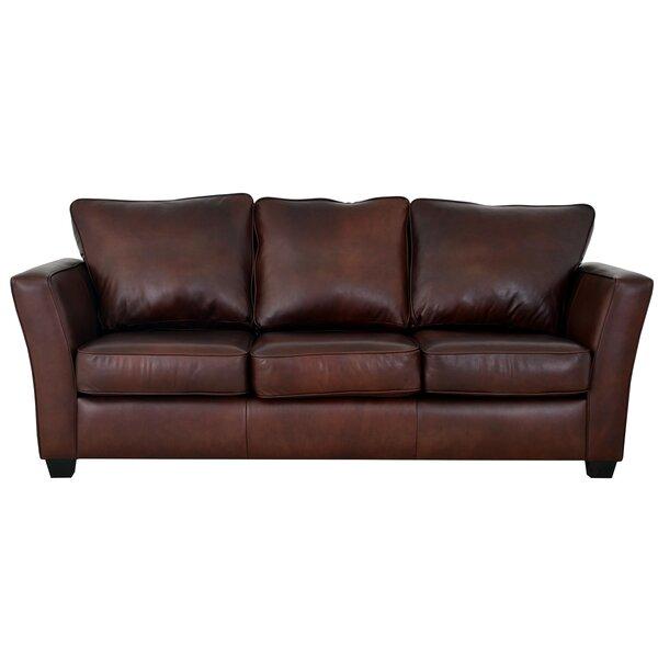 Bridgeport Leather Sofa by Westland and Birch
