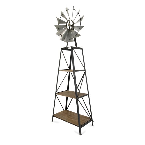 Stockbridge Windmill Etagere Bookcase By August Grove 2019 Coupon