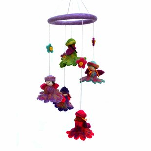 Find for Cheek Felt Flower Fairy Mobile ByZoomie Kids