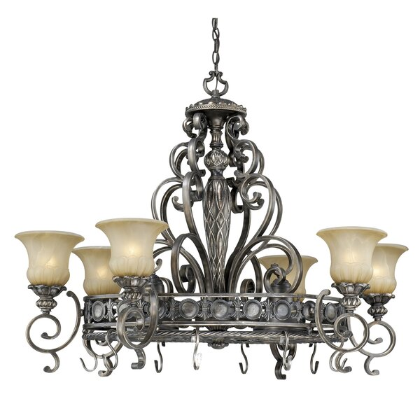 Chandelier Pot Rack by Astoria Grand