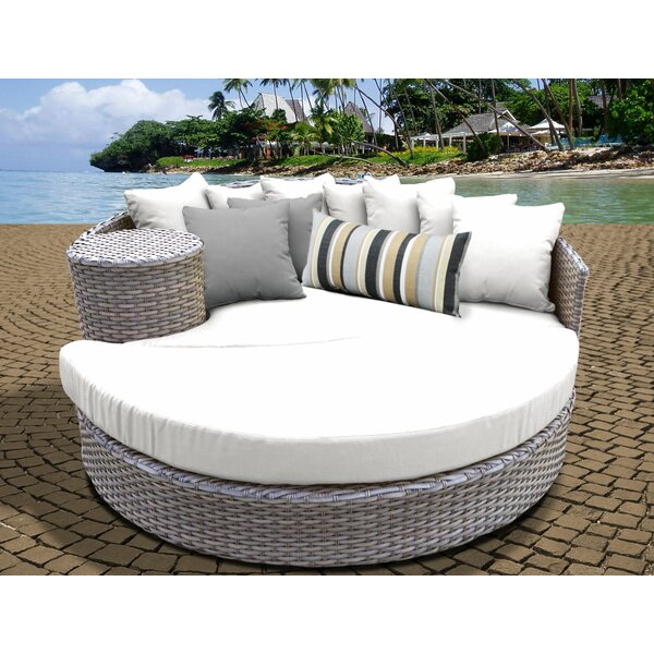 Romford Patio Daybed with Cushions by Sol 72 Outdoor Sol 72 Outdoor
