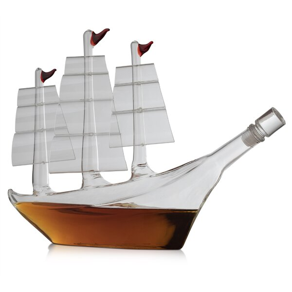 Castanon Ship 33.81 oz. Decanter by Longshore Tides