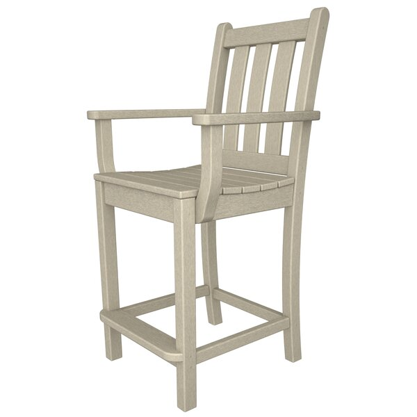 Traditional 24 Patio Bar Stool by POLYWOOD®