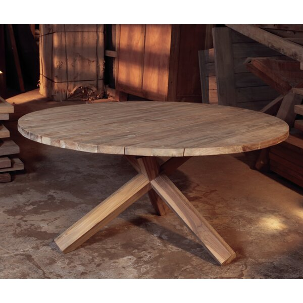 Bora Bora Teak Chat Table by Padmas Plantation