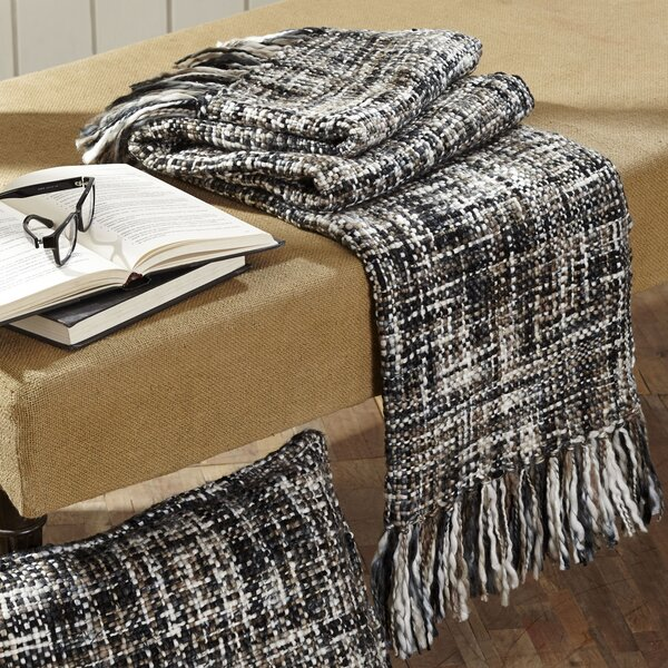 Boston Woven Throw by Laurel Foundry Modern Farmhouse