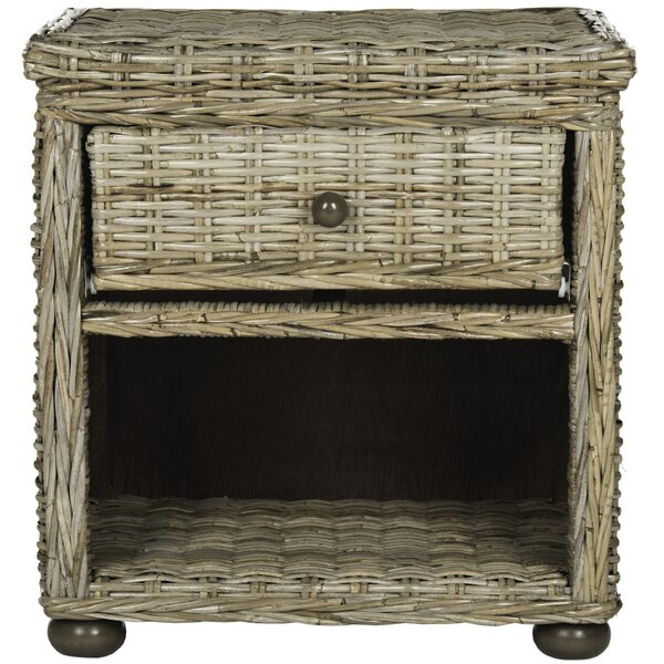 Haverhill 1 Drawer Nightstand by Bay Isle Home