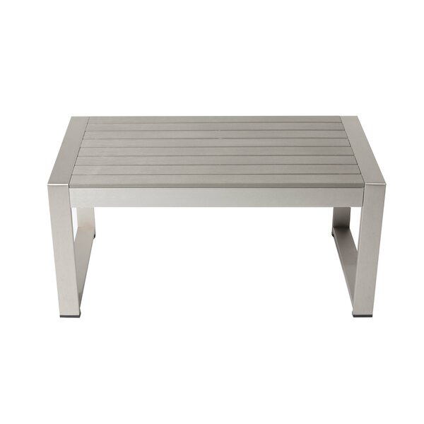 Karen Plastic/Resin Coffee Table by Rosecliff Heights