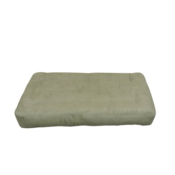 9 Foam and Cotton Chair Size Futon Mattress by Gold Bond