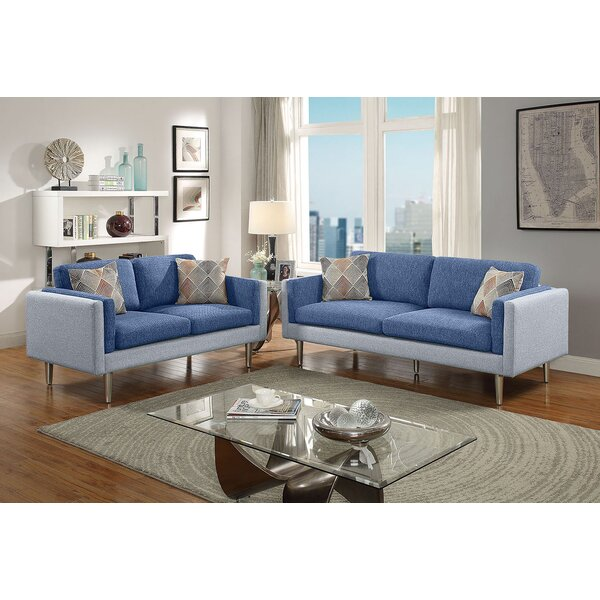 Vargo 2 Piece Living Room Set by George Oliver