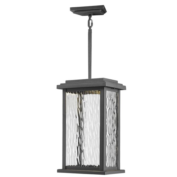 Bradly 1-Light Outdoor Hanging Lantern by Red Barrel Studio