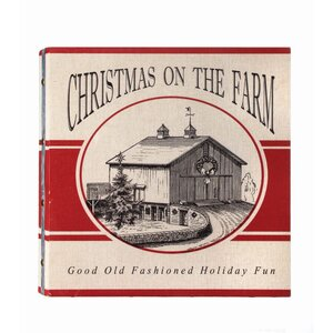 'Christmas on the Farm' Graphic Art Print by The Holiday Aisle