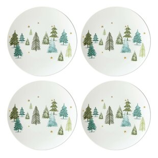 balsam lane accent appetizer plate set of 4