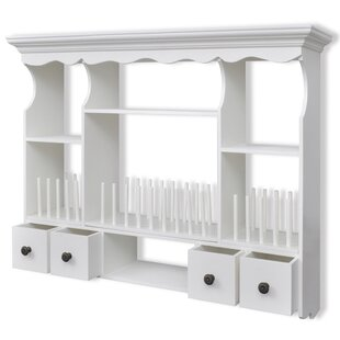 Plate Rack  sc 1 st  Wayfair & Wooden Wall Plate Racks | Wayfair.co.uk