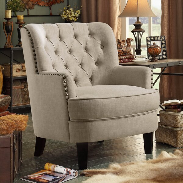 Ivo 30-inch Wingback Chair by Laurel Foundry Modern Farmhouse Laurel Foundry Modern Farmhouse