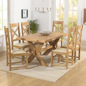 Essgruppe Rochelle mit ausziehbarem Tisch und 6 ..