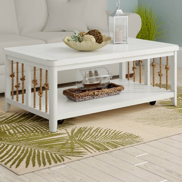 Sasha Coffee Table by Beachcrest Home