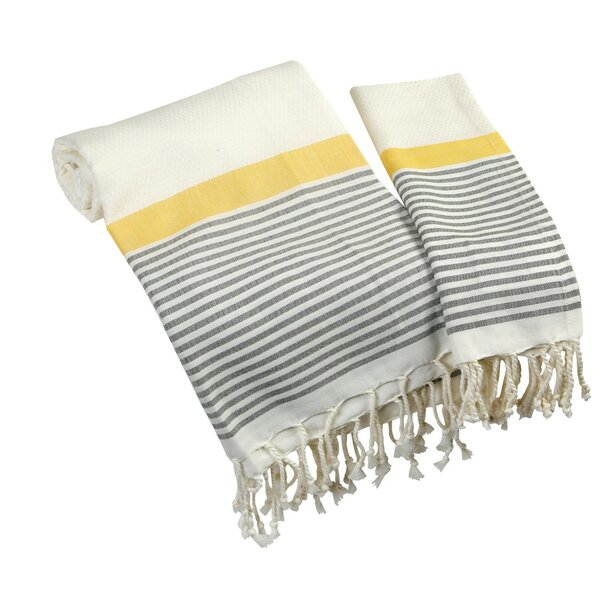 Corsham Bath Towel Set (Set of 2) by Highland Dunes