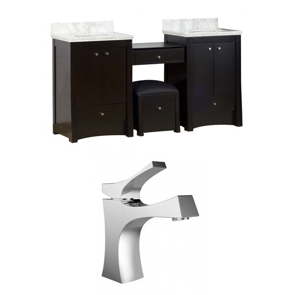 Elite 70 Double Bathroom Vanity Set by American Imaginations