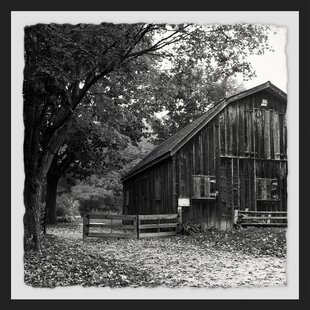 Old Barn Framed Photographic Print