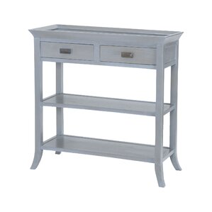 Elisamarie Mahogany Console Table by Willa A..