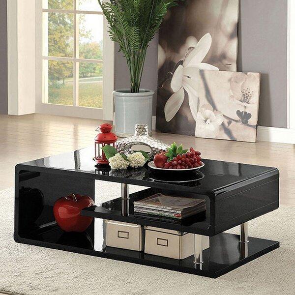 Natalee Floor Shelf Coffee Table By Orren Ellis