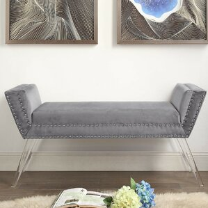 Turner Upholstered Bench by Inspired Home Co.