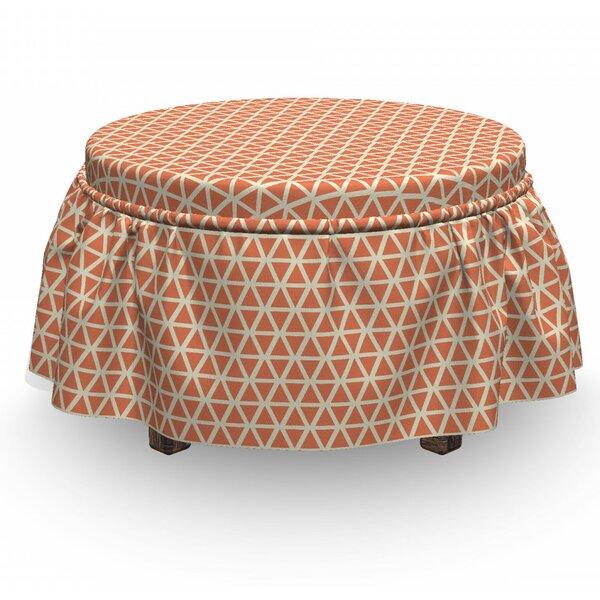 Patio Furniture Box Cushion Ottoman Slipcover