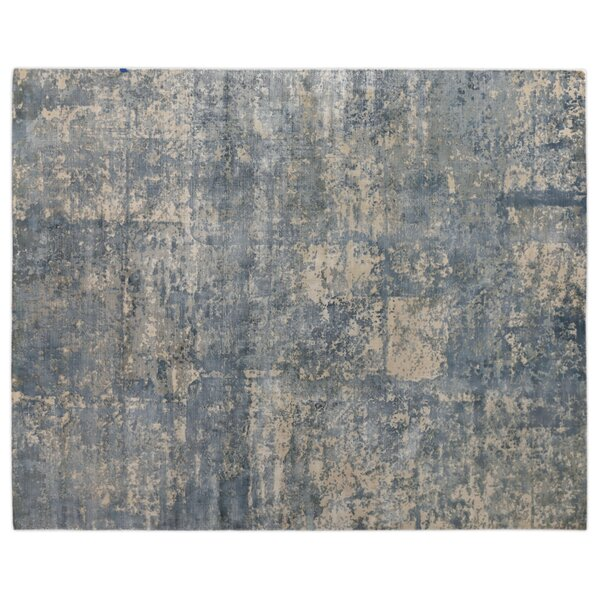 Koda Hand-Woven Silk River Rock Area Rug by Exquisite Rugs