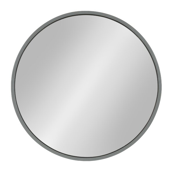 Homerton Round Wall Accent Mirror by Gracie Oaks