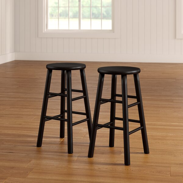 Scenic 24 Bar Stool (Set of 2) by Red Barrel Studio