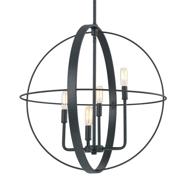 Nico 4-Light Chandelier by Corrigan Studio