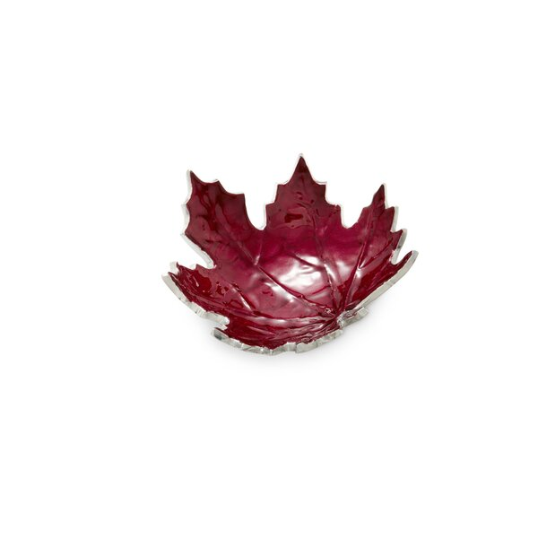 Maple Leaf 6 Petite Decorative Bowl by Julia Knight Inc