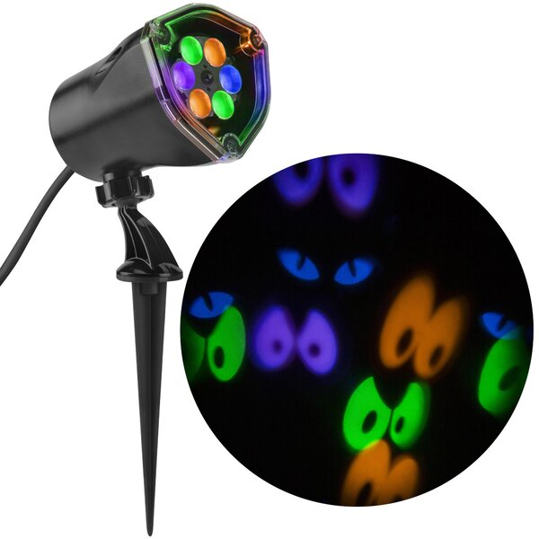 Lightshow Projection Whirl-a-Motion Eyes Lamp by The Holiday Aisle