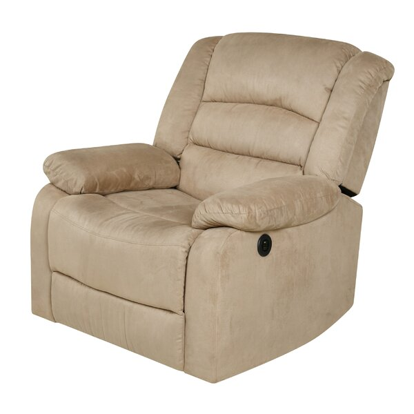 Reclining Heated Massage Chair by Red Barrel Studi