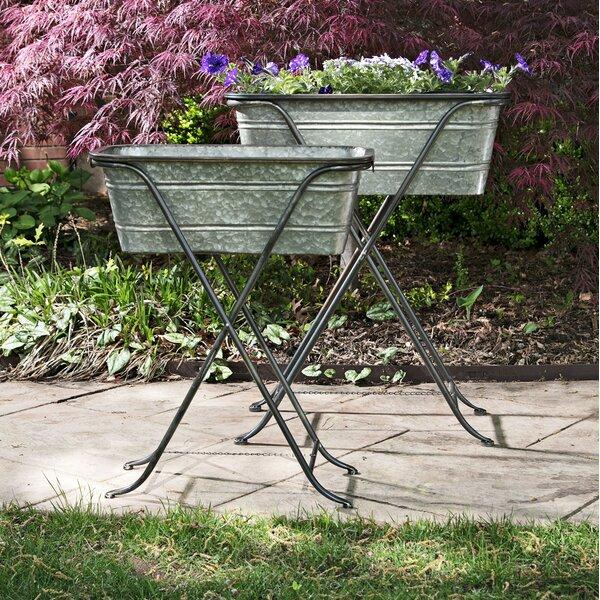 Beauvallon Galvanized Metal Raised Garden by Gracie Oaks