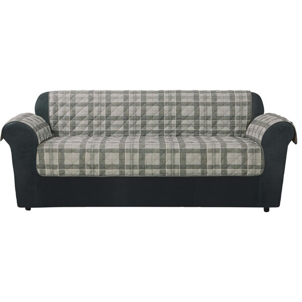 Highland Plaid Sofa Slipcover By Sure Fit